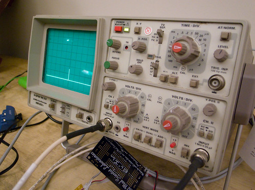 Oscilloscope Tennis For Two : Recreating tennis for two the classic video game