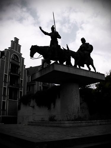 Don Quixote & Sancho Panza, Brussels