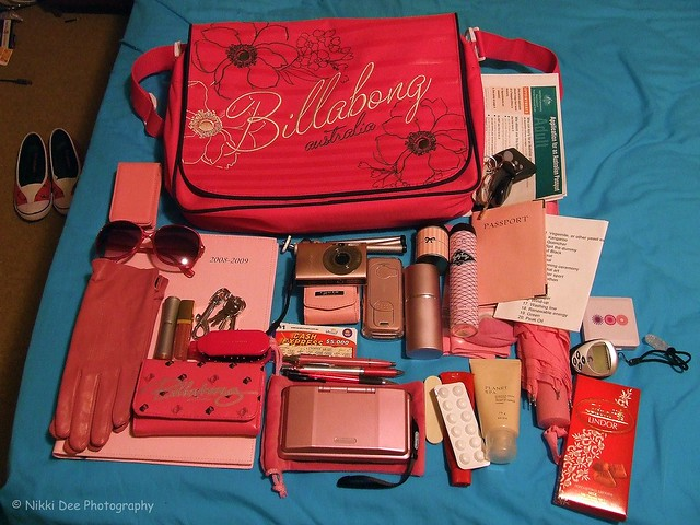 Whats in my bag - version 2