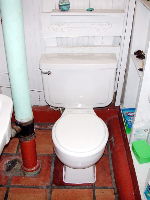 Toilet Before