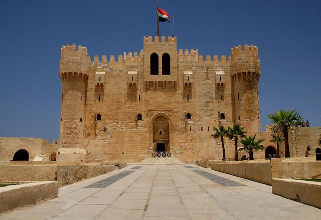 Qaitbay Fort, Alexandria by Flickr user seyerce