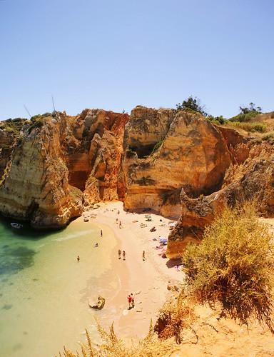 Praia de Dona Ana, Lagos (Algarve, Portugal)