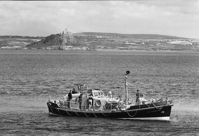RNLI Solomon Browne, Penlee Lifeboat August 1979