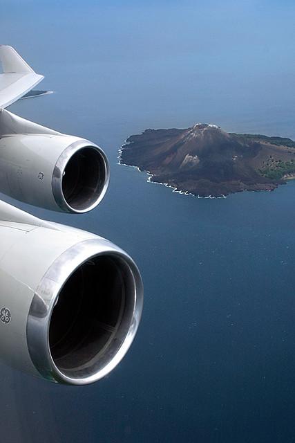 Over The Son of Krakatau
