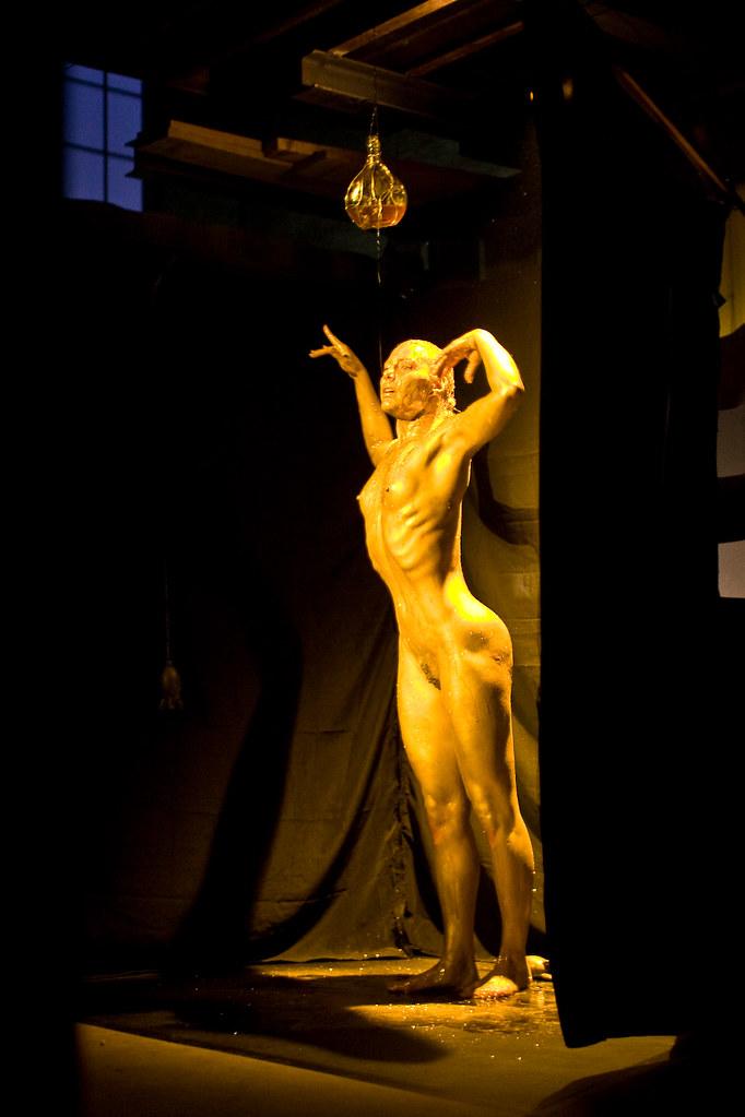 Nude emo girl model
