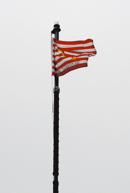 DON'T TREAD ON ME - Navy Jack is flying