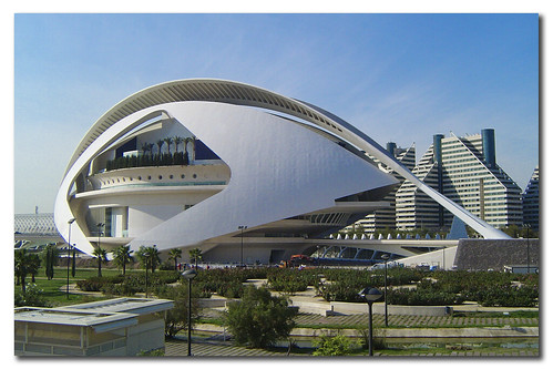 City of the Arts and the Sciences of Valencia, Spain, by jmhdezhdez