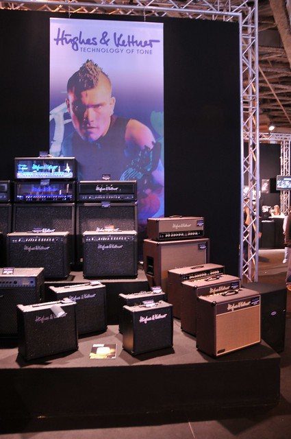 Photo:Hughes&Kettner guitar amplifiers family By fvancini