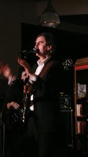 Robert Forster Band at Lancaster Libary Sept 08