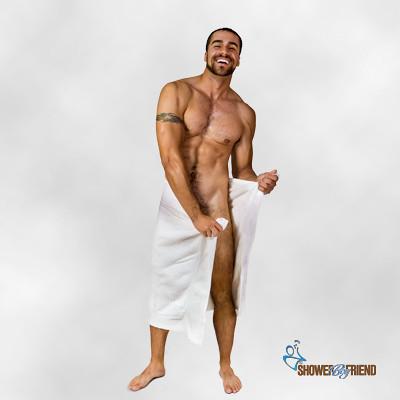 Nude Man Shower 25