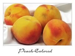 Peach-Colored