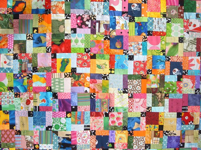 Disappearing Nine Patch Inspiration - a gallery on Flickr : disappearing nine patch quilt - Adamdwight.com