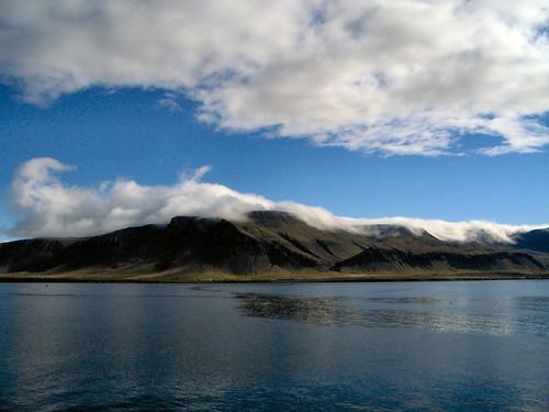 La côte islandaise à proximité de Reykjavik