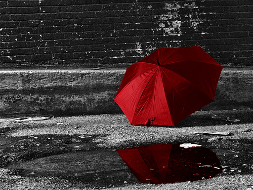Black And White Pictures With Red Umbrella | www.pixshark ...