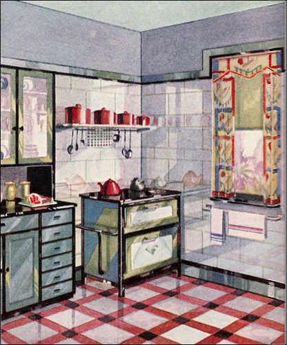 1920 39 s 1930 39 s kitchens a gallery on flickr for Kitchen ideas for 1920s house
