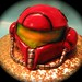 Super metroid  helmet cake