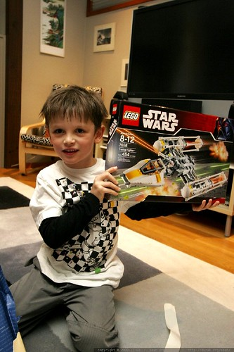 nick has a new y wing star wars lego kit    MG 2523