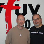 Marshall Crenshaw with Darren DeVivo at WFUV