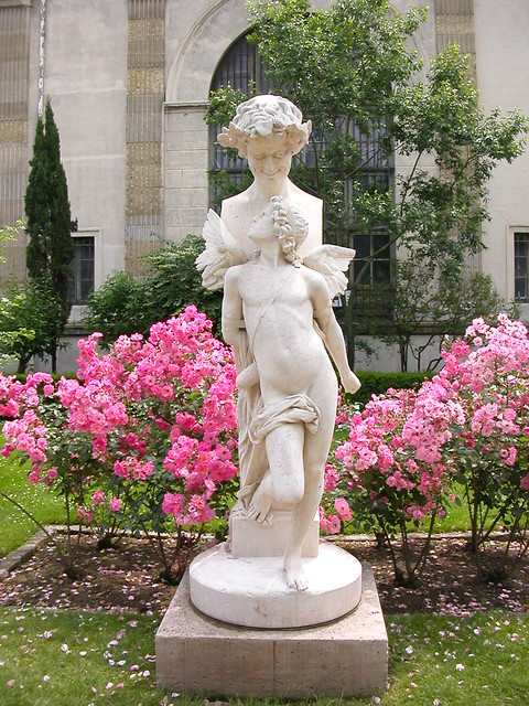 Statue jardin des plantes paris flickr photo sharing for Jardin plantes paris