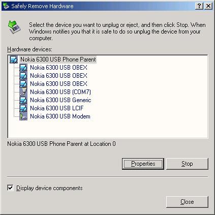Nokia 6300 Driver Details: