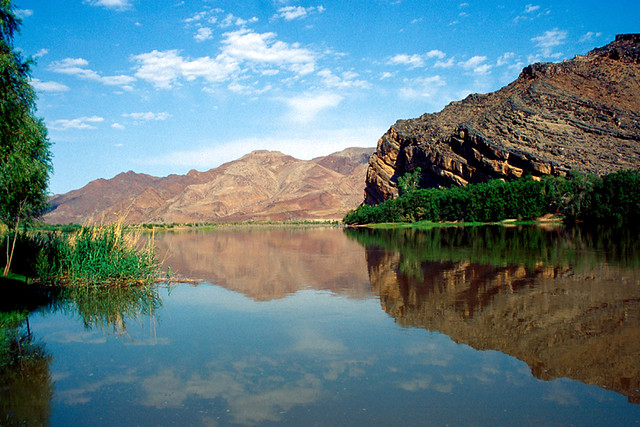 Orange River Between South