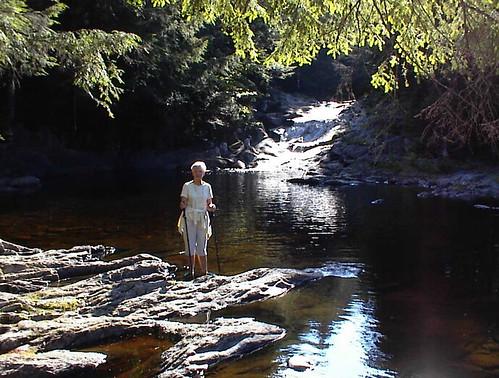 swimming waterfall maine ropeswing littlewilson piscataquis 100milewilderness