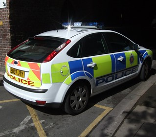 2007 Ford Focus Police Car
