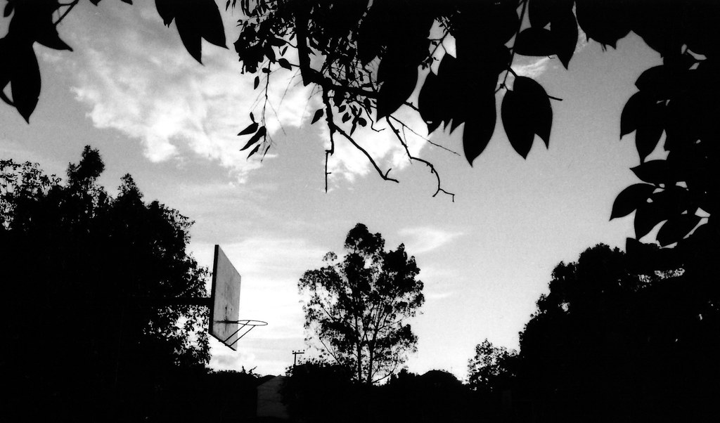 Basketball Court by the park