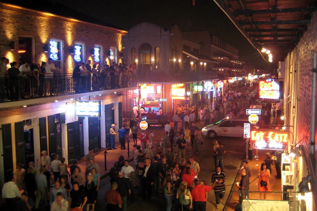 New Orleans の夜景