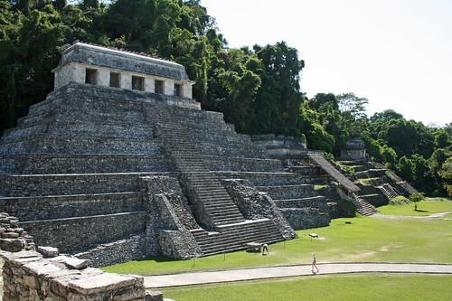 Templo de las Inscripciones, where Pakal's tomb is