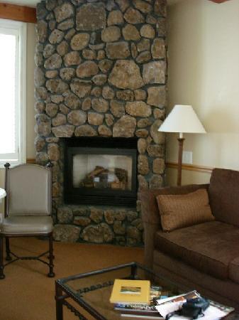 Yountville Inn, In-Room Fireplace
