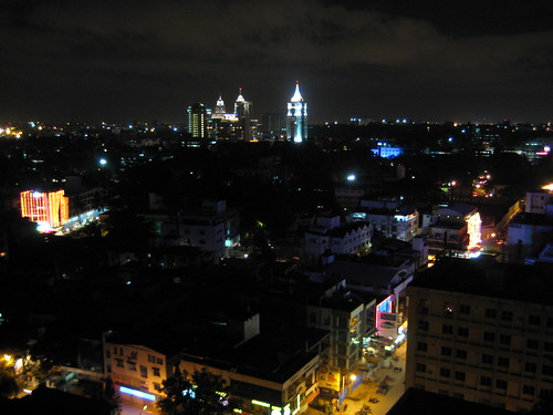 Bangalore by night