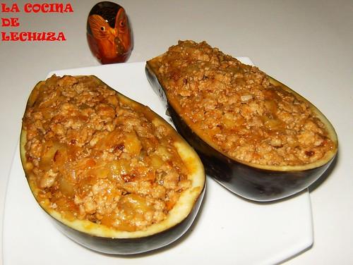 berenjenas rellenas de carne receta por pilar lechuza