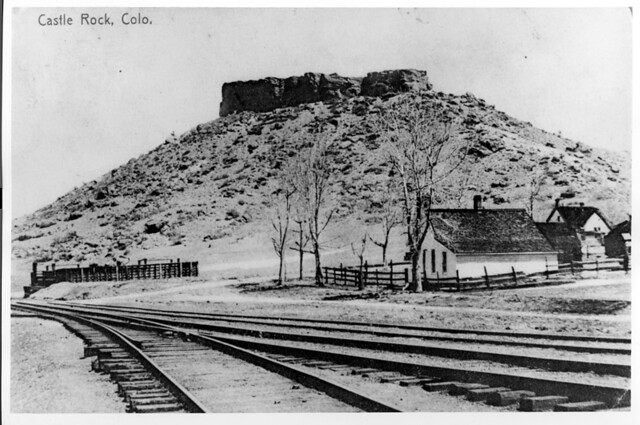 Denver And Rio Grande Railroad Siding Castle Rock