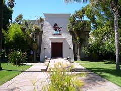 rear Entrance of Rosicrucian Egyptian Museum and Planetarium San Jose