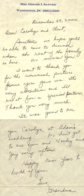 letter to mom 20001229 letter from to carolyn both pages p 1443