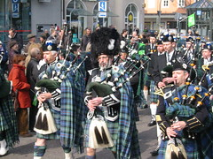 festival, musician, musical ensemble, musical instrument, marching, bagpipes,