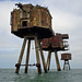 Shivering Sands sea forts by diamond geezer