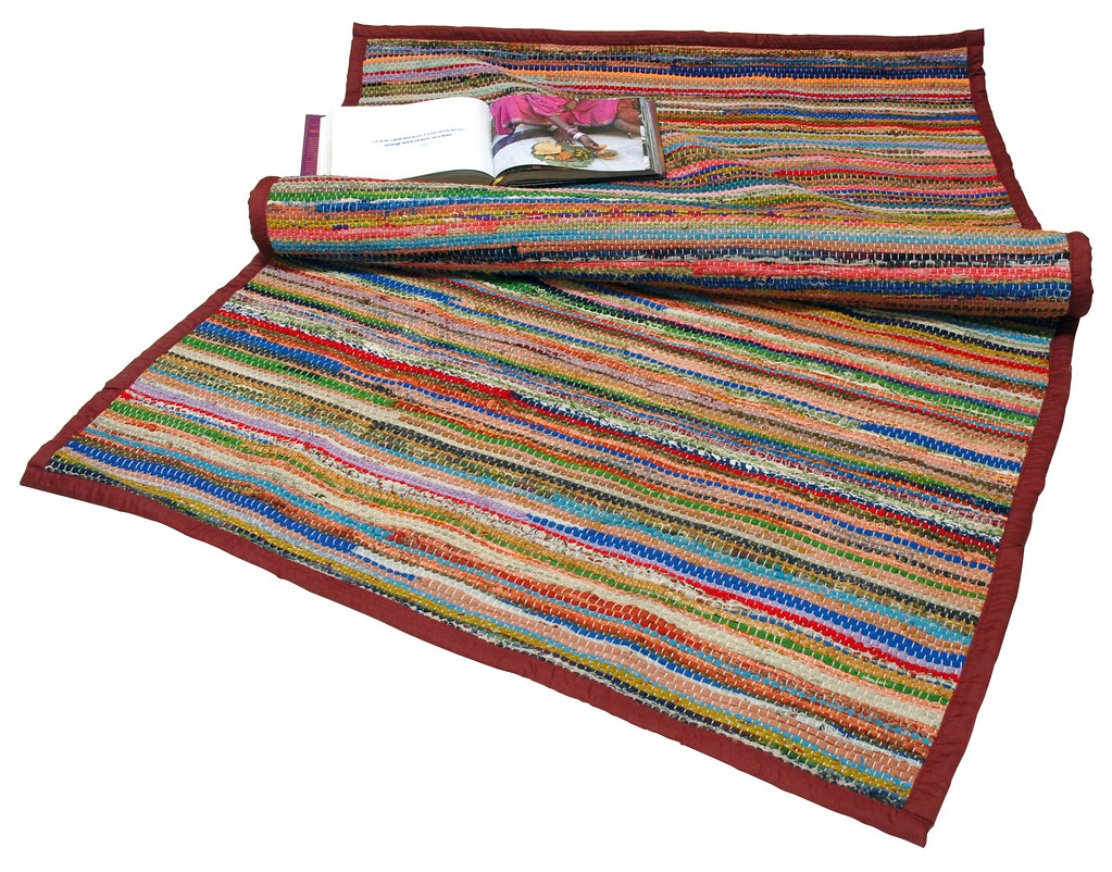 Durry Recycled Silk Rug Fabulous Large Durries Hand