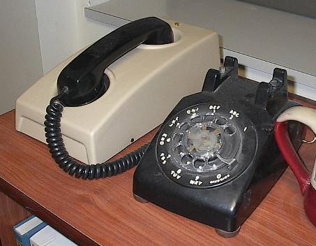 modem and phone