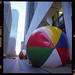 World's Largest Beach Ball and Its Counterpart by Daniel Driensky