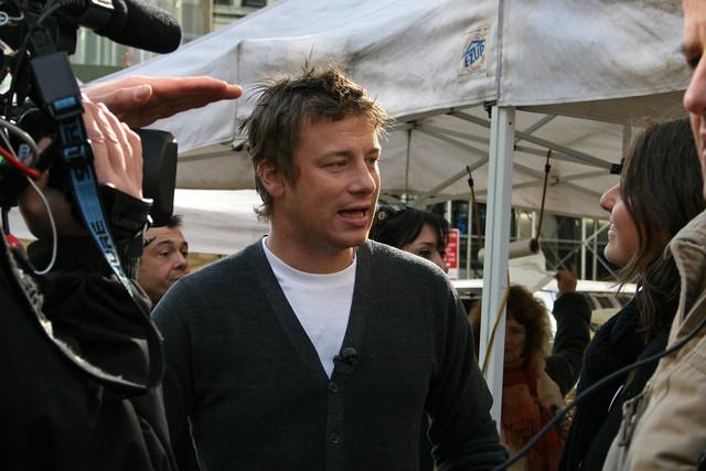 Jamie Oliver in Union Square