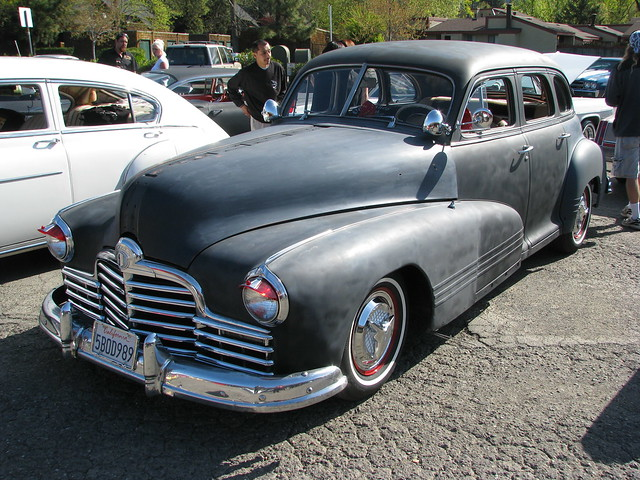 1946 pontiac 4 door sedan custom 39 5bod989 39 1 flickr for 1946 chevy 4 door sedan