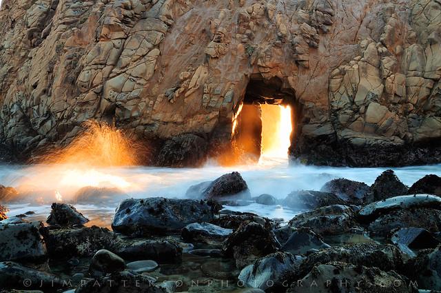 Pfeiffer Beach Arch - Big Sur, California