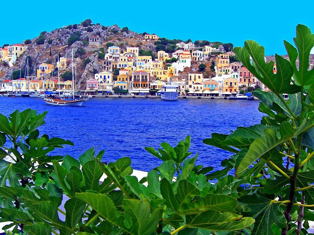 Symi island scenery