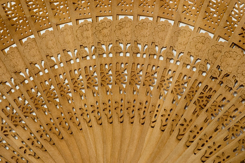 Texture: Wooden Fan
