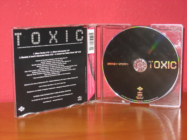 Britney Spears - Toxic - CD Single | Flickr - Photo Sharing!