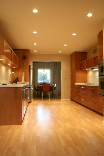 Kitchen Cabinets Narrow Kitchen Layout