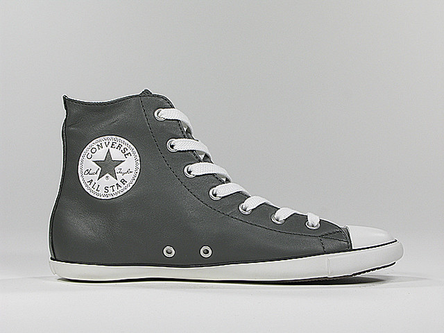 5c05618461f ... 507233 - Converse Chuck Taylor All Star Light Charcoal Leather