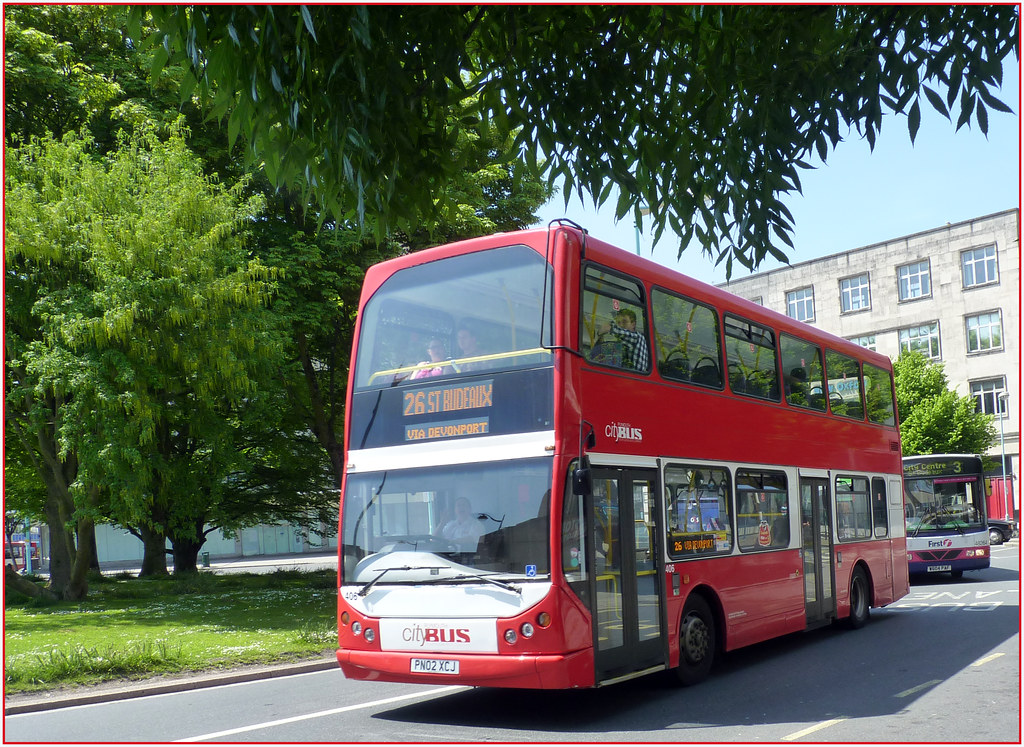 Plymouth Citybus 406 PN02XCJ